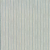 Moda - Ahoy Me Hearties by Janet Clare - 5714 - Cream & Pale Blue Stripe - 1435 16 - Cotton Fabric